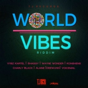 Instrumental: Vybz Kartel - X (All Your Exes) (World Vibes Riddim) (Instrumental) (Produced By TJ Records)